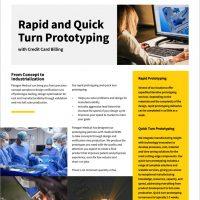 Rapid Prototyping Brochure