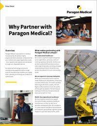 Datasheet: Why Partner with Paragon Medical?