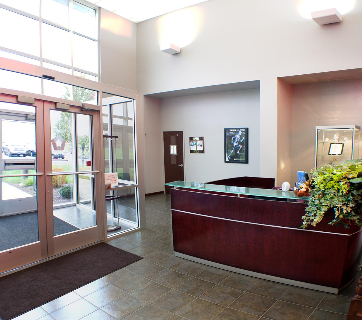 BioSkills Lab - Case & Tray Lobby
