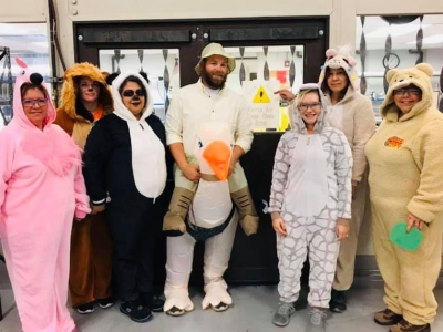 Paragon Medical Halloween costume contest