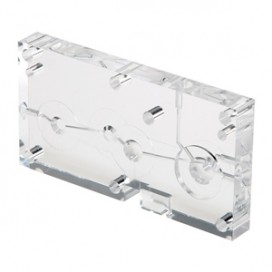 5 Axis machined plastic / acrylic part