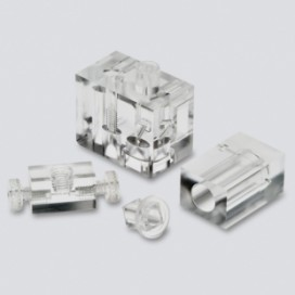 Plastic / Acrylic Medical Components - Milled & Polished