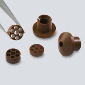 Micro vespel electronic components